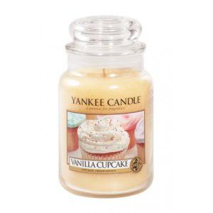 Yankee Candle Vanilla Cupcake - Świeca Duża