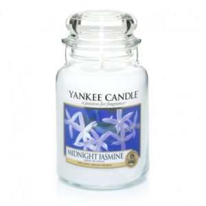 Yankee Candle Midnight Jasmine - Świeca Duża