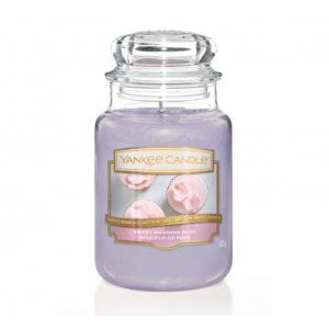 Yankee Candle Sweet Morning Rose - Świeca Duża