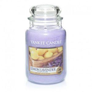 Yankee Candle Lemon Lavender - Świeca Duża