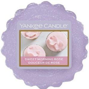 Yankee Candle Sweet Morning Rose - Wosk