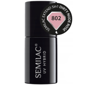 Semilac Extend 5in1 - 802 Dirty Nude Rose