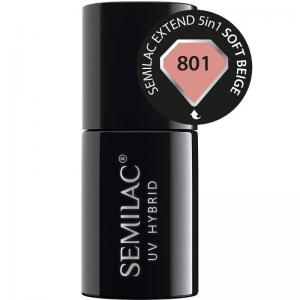Semilac Extend 5in1 - 801 Soft Beige