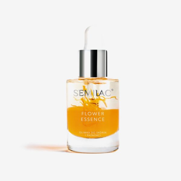 Semilac Oliwka w Żelu - Flower Essence Orange Strength