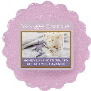 Yankee Candle Honey Lavender Gelato - Wosk