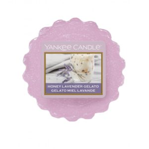Yankee Candle Honey Lavender Gelato - Wosk