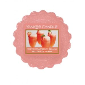 Yankee Candle White Strawberry Bellini - Wosk