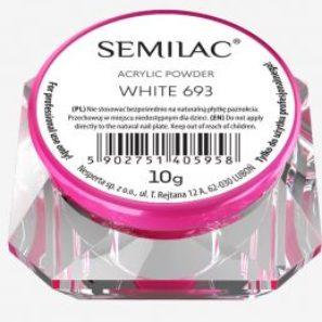 Semilac Pyłek Akrylowy - 693 White