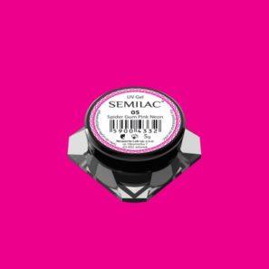 Semilac Żel do Zdobień - Spider Gum 05 Pink Neon