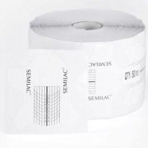 Semilac Formy do Przedłużania Wide - 500 szt.