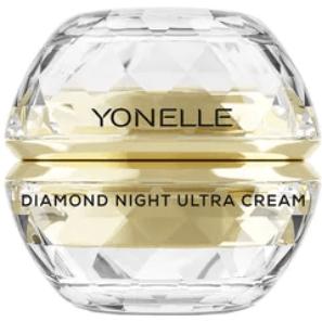 Yonelle Diamond - Diamentowy Ultra Krem na noc na Twarz i Usta
