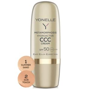 Yonelle Metamorphosis - Hydroaktywny Krem CCC SPF50 1 Summer Sand