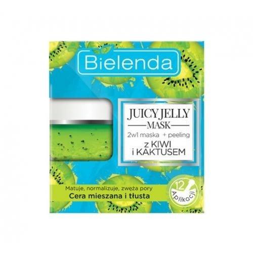Bielenda Juicy Jelly - Maseczka + Peeling Oczyszczający