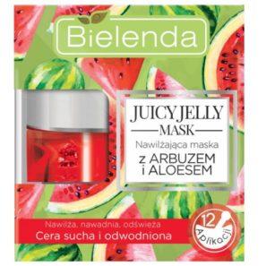 Bielenda Juicy Jelly - Maseczka Nawilżająca Arbuz i Aloes