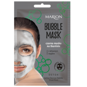 Marion Bubbke Mask - Czarna Maska Bąbelkowa