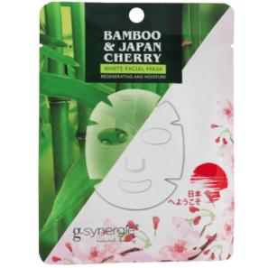 G-Synergie Bamboo&Cherry - Maseczka do Twarzy Nawilżająco-Odżywcza