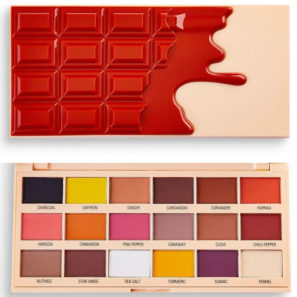 Makeup Revolution Paleta I Heart Chocolate - Cinnamon