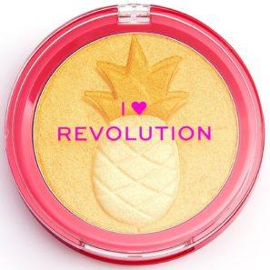 Makeup Revolution Fruity - Rozświetlacz Ananas