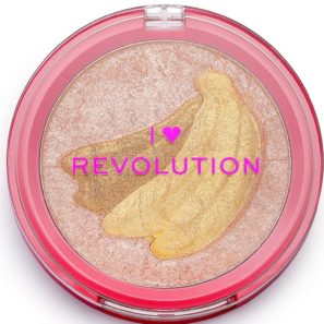 Makeup Revolution Fruity - Rozświetlacz Banana
