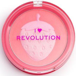 Makeup Revolution Fruity - Róż Truskawka