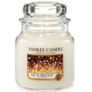 Yankee Candle All is Bright - Świeca Średnia