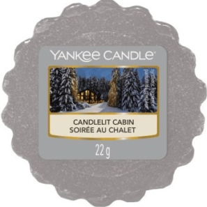 Yankee Candle Candlelit Cabin - Wosk