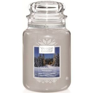 Yankee Candle Candlelit Cabin - Świeca Duża