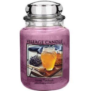 Village Candle Honey Patchouli - Świeca Duża
