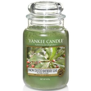 Yankee Candle Snow Dusted Bayberry Leaf - Świeca Duża