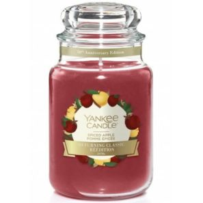 Yankee Candle Spiced Apple - Świeca Duża