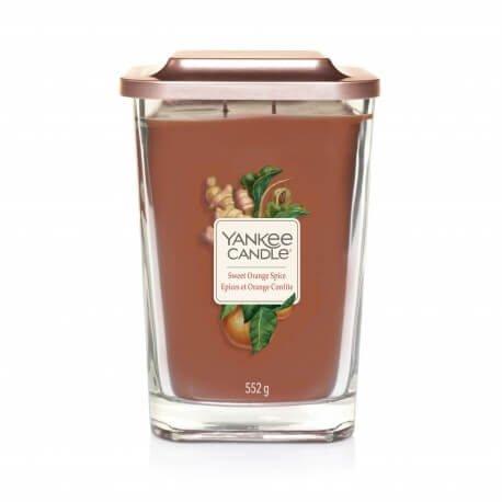 Yankee Candle Elevation Sweet Orange Spice - Świeca Duża