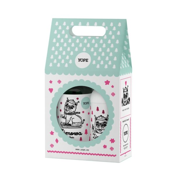 YOPE Zimowa Herbata - Zestaw Mydło + Balsam