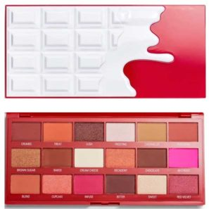 Makeup Revolution Paleta I Heart Chocolate - Red Velvet