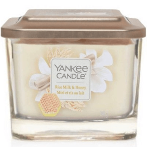Yankee Candle Elevation Rice Milk & Honey - Świeca Średnia