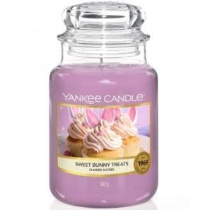 Yankee Candle Sweet Bunny Treats - Świeca Duża
