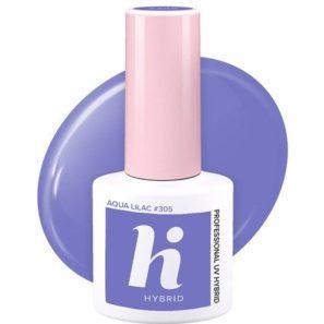 Hi Hybrid Lakier Hybrydowy 305 - Aqua Lilac