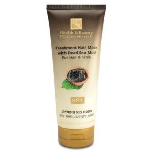 H&B Terapeutyczna Maska do Włosów i Skóry Głowy z Błotem