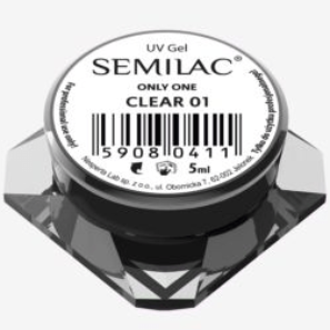 Semilac UV Gel Only One 01 Clear 5ml