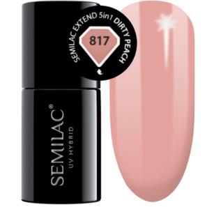 Semilac Extend 5in1 - 817 Dirty Peach