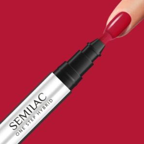 Semilac One Step - S550 Pure Red