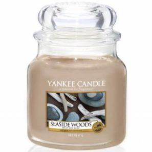 Yankee Candle Seaside Woods - Świeca Średnia