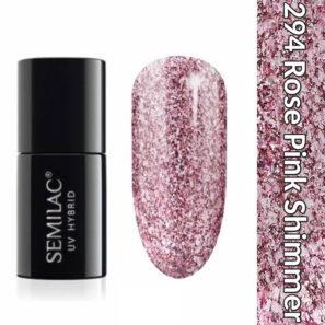 Semilac Lakier Hybrydowy 294 Rose Pink Shimmer
