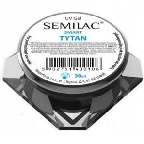 Semilac Smart Tytan 50ml - Żel Budujący