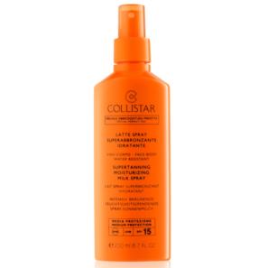 Collistar Sun Protection - Mleczko do Opalania w Sprayu SPF 15
