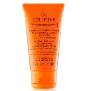 Collistar Sun Protection - Przeciwstarzeniowy Krem do Opalania SPF 30