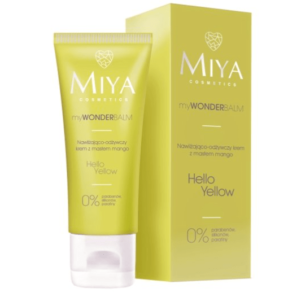 Miya Cosmetics myWONDERbalm Hello Yellow - Krem Nawilżająco - Odżywczy z Masłem Mango 75 ml
