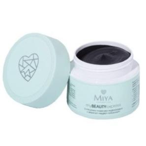 Miya Cosmetics myBEAUTYexpress 3-minutowa Maseczka Wygładzająca z Aktywnym Węglem Kokosowym