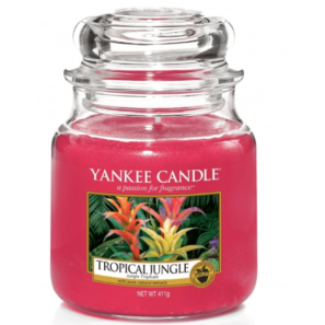 Yankee Candle Tropical Jungle - Świeca Średnia