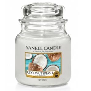 Yankee Candle Coconut Splash - Świeca Średnia