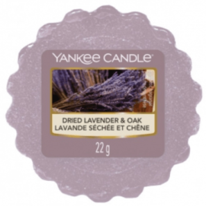 Yankee Candle Dried Lavender & Oak - Wosk